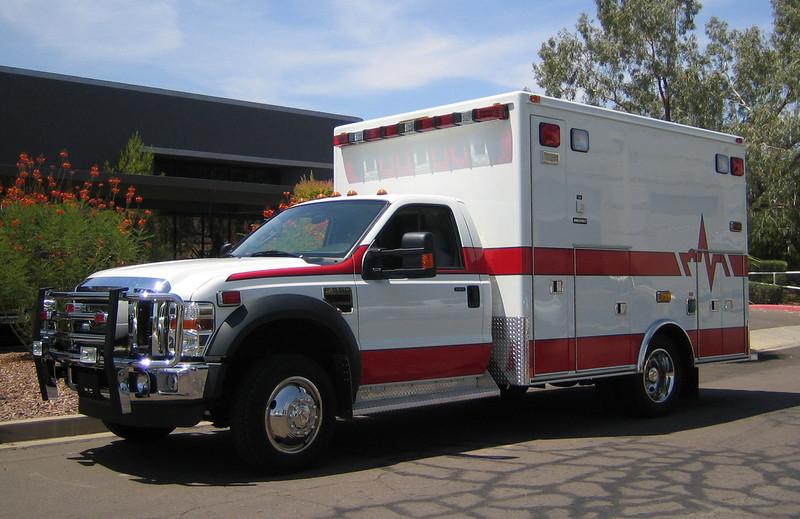 2008 Ford F550 Medtec