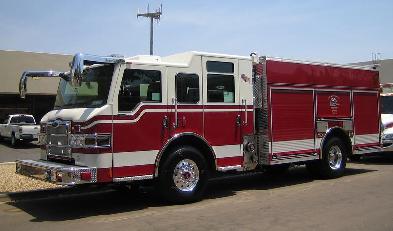 2008 Pierce Velocity PUC Engine
