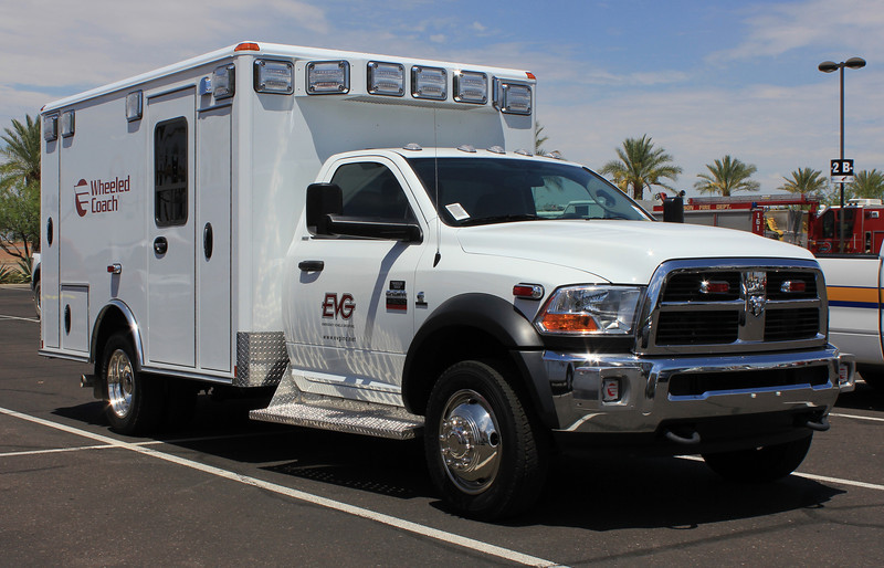 EVG 2011 Dodge Ram 4500 Wheeled Coach (ps)