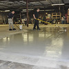 The first of 3 coats of epoxy are finally being applied!