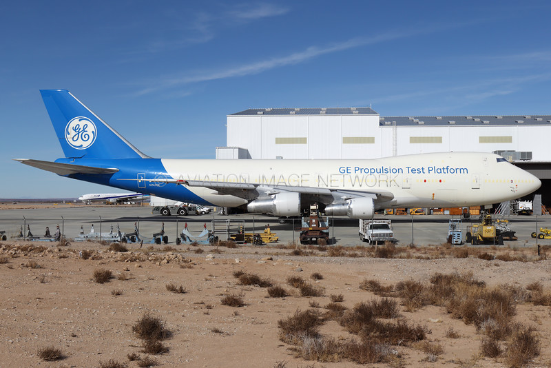N747GE | Boeing 747-121 | General Electric