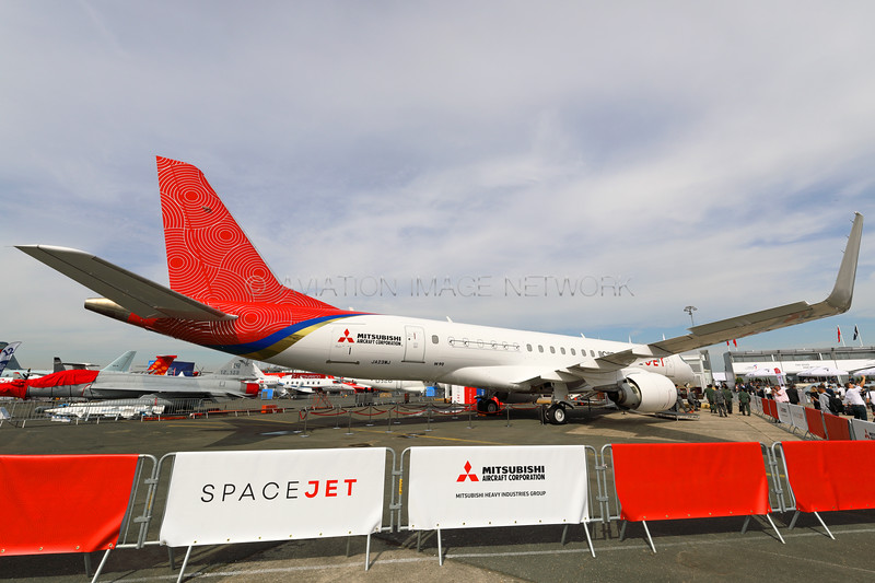 JA23MJ | SpaceJet M90 | Mitsubishi Aircraft Corporation