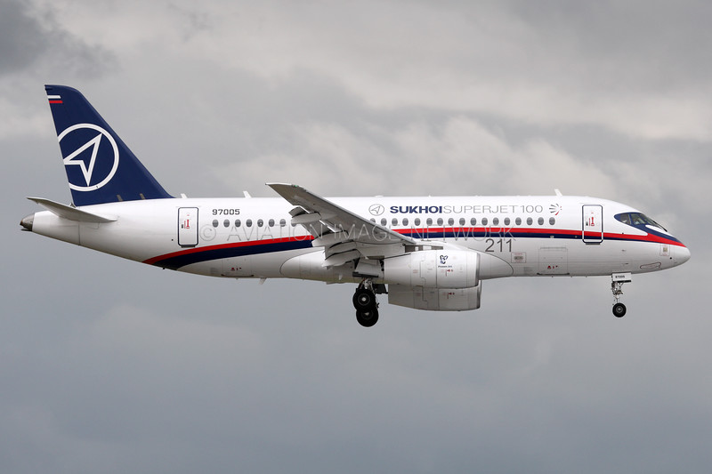 RA 97005 | Sukhoi Superjet 100-95 | Sukhoi