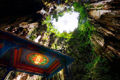 The Shrine of Batu Caves.  Kuala Lumpur, Malaysia.