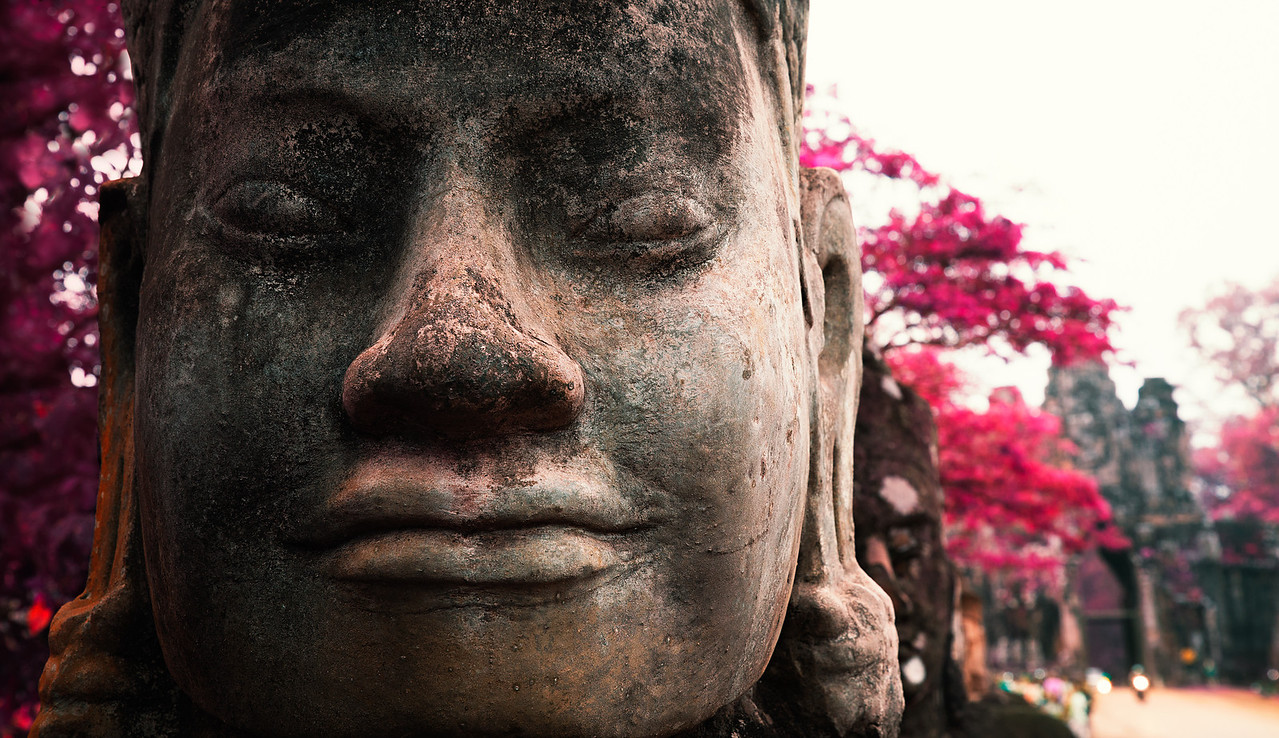 Resting Warriors | Angkor Thom Temple in Siem Reap, Cambodia