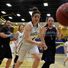 Manzano at Santa Fe High District 2-6A girls basketball game played Saturday, January 28, 2017 at Toby Roybal Memorial Gymnasium, Santa Fe High. Clyde Mueller/The New Mexican