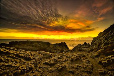 Dramatic Cape Palliser sunset