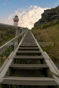 Stairs to the lighthouse