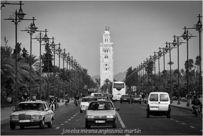 av. bab jedid mosquée de la koutoubia