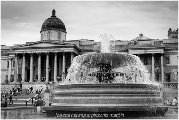 Trafalgar sq