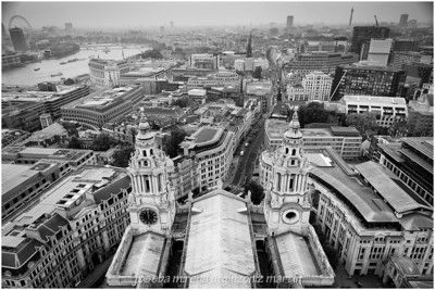 panoramica londres desde la catedral