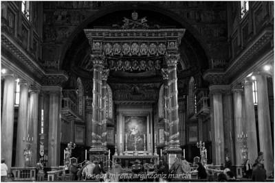 Baldaquino santa maria maggiore