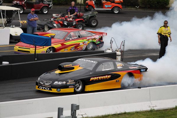 Top Sportsman and Top Dragster Action