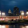 Jennifer Haralamos, Stadium Glow, framed digital print, 20x14, $190, jenharley1@aol com, 513-407-6638