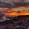 Fred Haaser, Lava Meets the Packfic at Sunset, Metal Print, 16x20, $225, pack489@yahoo.com, 513-602-1734