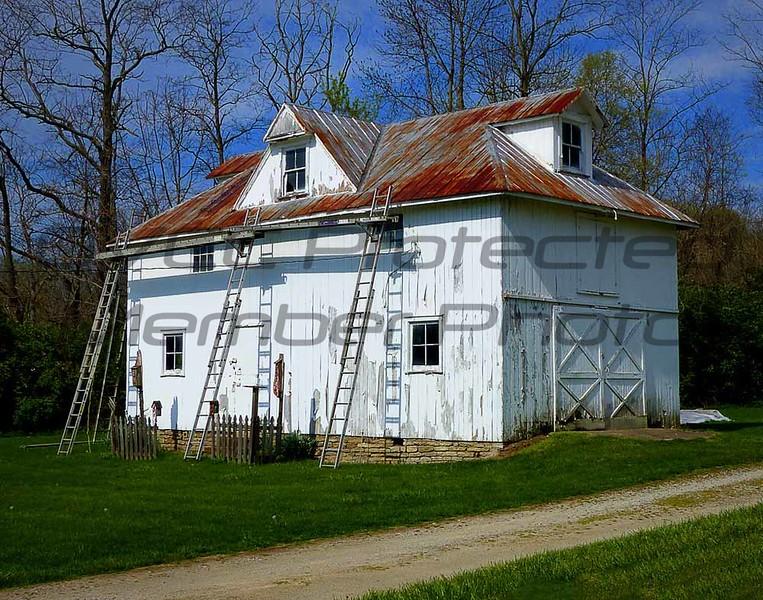John Butler. White Barn, Digital Photo, 20 x 24, $125, Jbutler2@isoc.net, 513-874-5241