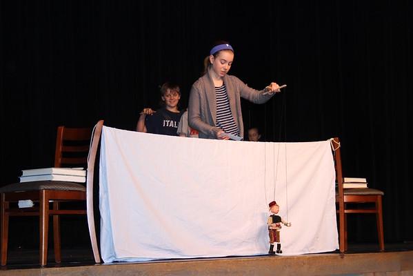 6th grade Medieval Puppets