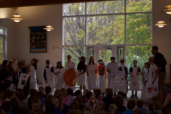 5th grade Greek Gods