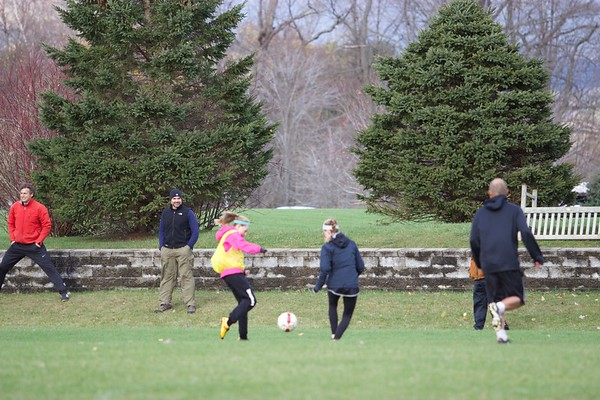 Alumni, Parent, Student Soccer Game