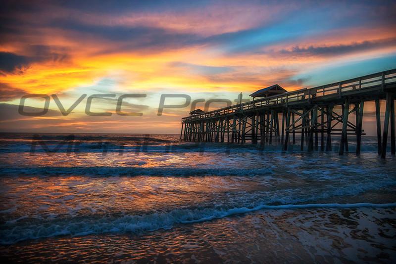 Jennifer Haralamos, Amelia Island Sunrise, framed digital print, 10x14, $125, jenahrley1@aol com, 513-407-6638