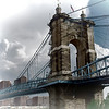 Joe Chunko, Roeblling Bridge, Photo Printed on Rice Paper, 20x24, $200.00, jrchunko@gmail.com,  513 492 7379