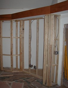 1999-02-17 studio wall bass trap framing