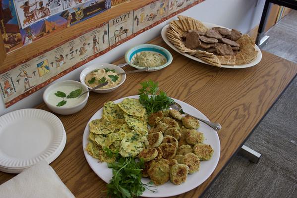 3rd grade - Middle Eastern Feast