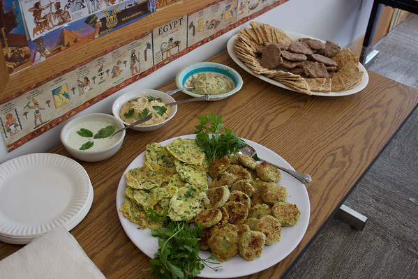 3rd grade - Middle Eastern Feast