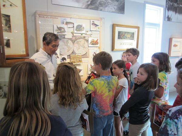 Third Grade Visits Flyfishing Museum/Orvis