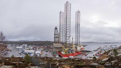 Semco Marine AS, West Elara på Hanøytangen