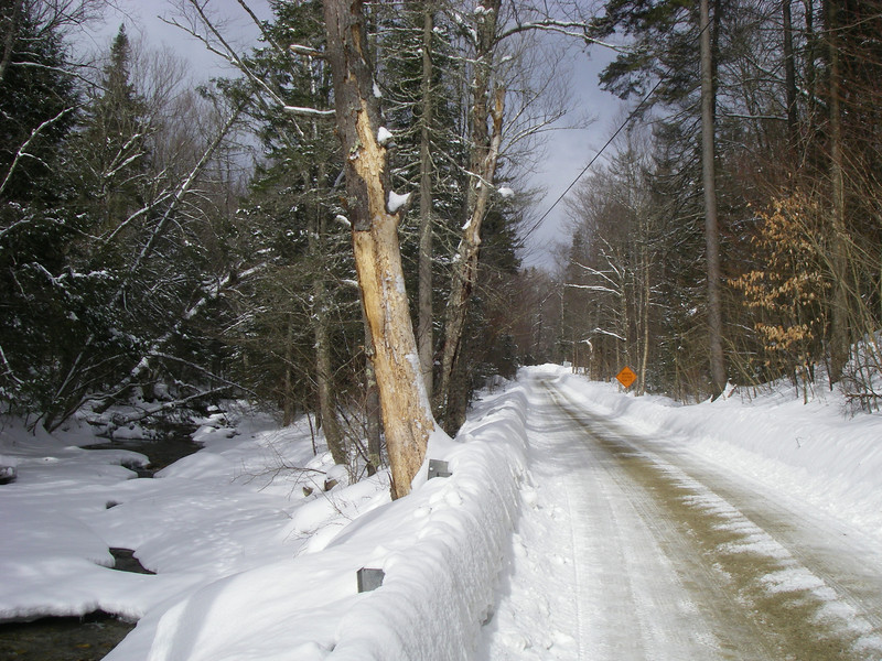 Wheelerville Road just before Bridge 24