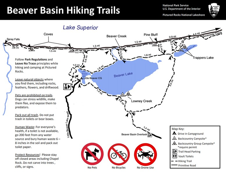 Pictured Rocks National Lakeshore (Beaver Basin Area Trails)