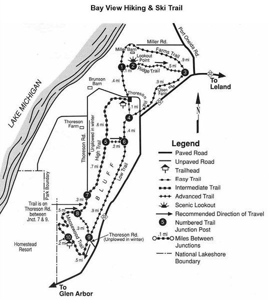 Sleeping Bear Dunes National Lakeshore (Bay View Trail)