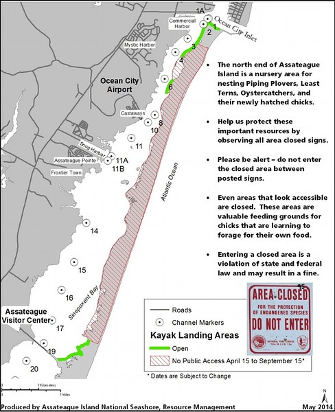Assateague Island National Seashore (Kayak Landing Areas)