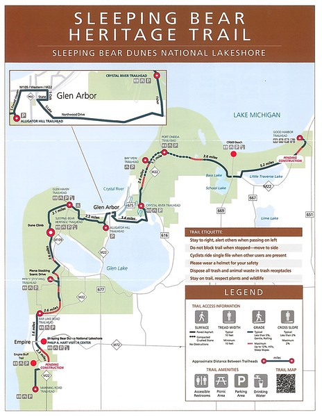 Sleeping Bear Dunes National Lakeshore (Sleeping Bear Heritage Trail)