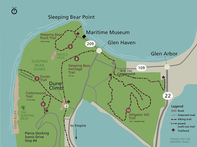 Sleeping Bear Dunes National Lakeshore (Dunes Point Trail)