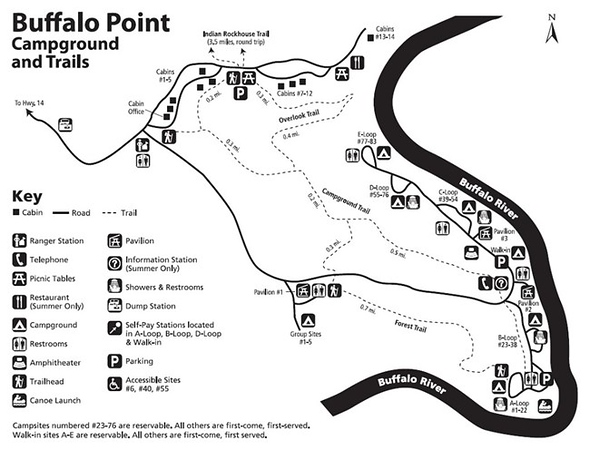Buffalo National River (Buffalo Point Campground)