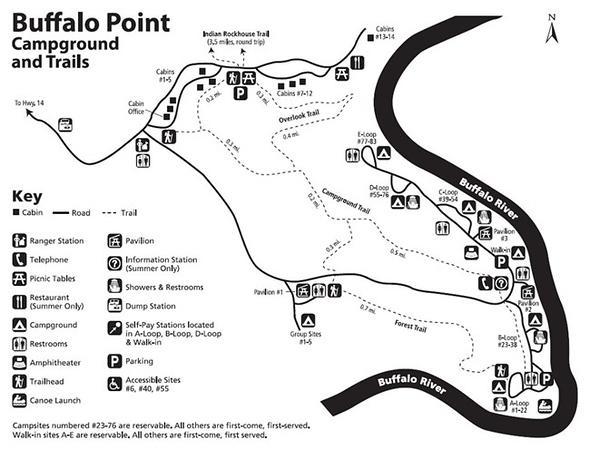 Buffalo National River (Buffalo Point Campground)