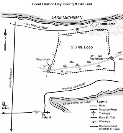 Sleeping Bear Dunes National Lakeshore (Good Harbor Bay Trail)