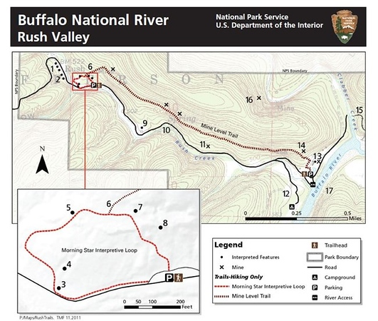 Buffalo National River (Rush Valley Trails)