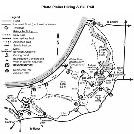 Sleeping Bear Dunes National Lakeshore (Platte Plains Trail)
