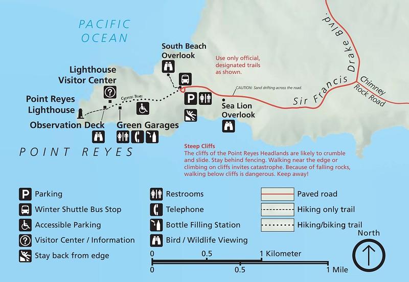 Point Reyes National Seashore (Point Reyes Lighthouse Area)