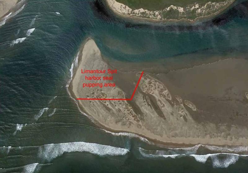 Point Reyes National Seashore (Seal Protection Closure Area - Limantour Spit)
