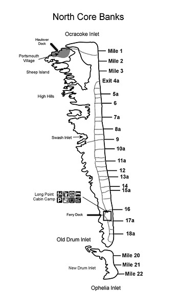 Cape Lookout National Seashore (North Core Banks)