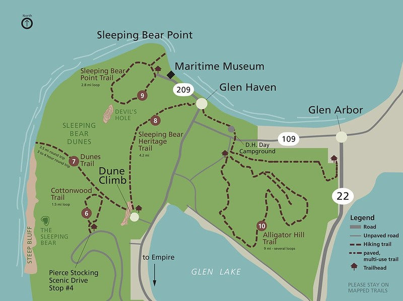 Sleeping Bear Dunes National Lakeshore (Dunes Trail)