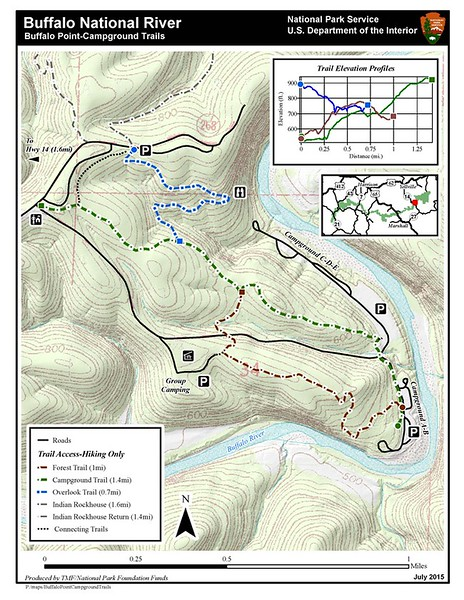 Buffalo National River (Buffalo Point Trails)