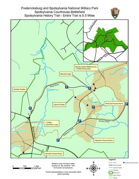 Fredericksburg & Spotsylvania National Military Park (Spotsylvania History Trail)