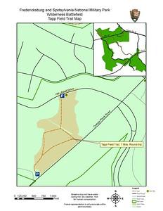 Fredericksburg & Spotsylvania National Military Park (Tapp Field Trail)