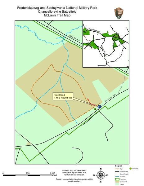 Fredericksburg & Spotsylvania National Military Park (McClaws Trail)