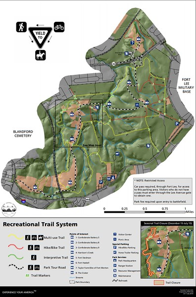 Petersburg National Battlefield (Eastern Front Trails)